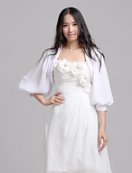 Chiffon Wedding Party Evening Casual Wedding  Wraps Coats / Jackets