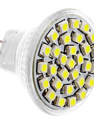 Недорогие -SENCART 180lm GU4(MR11) Точечное LED освещение MR11 30 Светодиодные бусины SMD 3528 Естественный белый 12V