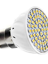 3000 lm B22 Lâmpadas de Foco de LED 60 leds SMD 3528 Branco Quente AC 220-240V