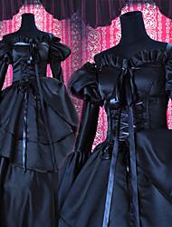 Недорогие -Вдохновлен Код Gease C.C. Аниме Косплэй костюмы Косплей Костюмы Пэчворк Платье Назначение Универсальные