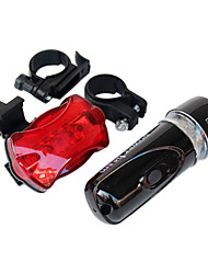 cheap -Rear Bike Light Front Bike Light LED Cycling Waterproof Backlight AAA Lumens Battery Cycling/Bike