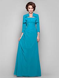 Guaina / colonna senza spalline floor-lunghezza madre chiffon del vestito da sposa da lan ting bride®