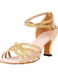 Frizzante scintillio superiore scarpe da ballo latino donne personalizzata (altri colori)