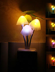 Mushroom Shaped Colorful LED Night Light