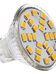 gu4 (mr11) spotlight conduzido mr11 24 smd 2835 230lm branco quente 2700k dc 12 ac 12v