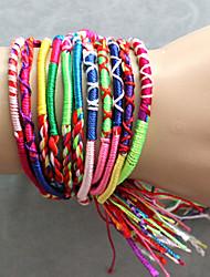 cheap -Women's Friendship Bracelet / Vintage Bracelet - Unique Design, Fashion, Colorful Bracelet Red For Party / Daily