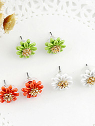 cheap -Women's Pearl Stud Earrings - Multi Layer Flower For Party Daily