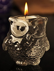 Beautiful Owl Shaped Candle Favor Elegant Wedding Party Favors