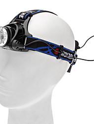 ヘッドランプ ヘッドライト LED 450 lm 3 モード Cree XM-L T6 キャンプ/ハイキング/ケイビング 日常使用 サイクリング 狩猟