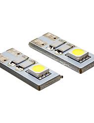 billige -20-80 lm LED-spotlys 2 leds SMD 5050 Kold hvid AC 12V