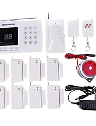cheap -433MHz PSTN Sound Alarm Telephone Alarm Home Alarm Systems