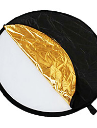 "24"" 5-in-1 Light Mulit Collapsible disc Reflector 60cm"