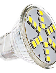 abordables -2W 6000 lm GU4(MR11) Spot LED MR11 18 diodes électroluminescentes SMD 2835 Blanc Froid AC 12V DC 12V