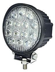 42W 13 LEDs Round Work Light