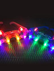 Недорогие -Блестящий светодиодные очки ночного рынка игрушек (случайный цвет)