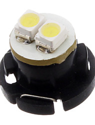cheap -T4.7 2x3528SMD 6000-6500K Cool White Light High Power Instrument Panel LED Bulb (12V)