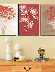 Canvas Art Floral Fresco Blush Conjunto de 3