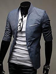 Недорогие -Мужчин V-образным вырезом Тонкий Vest
