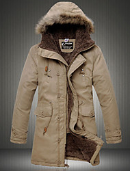 Недорогие -Мужчины Толстовка с капюшоном Хлопок и пиджаки