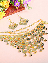 cheap -Dance Accessories Jewelry Women's Training Metal Coins