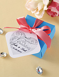 Personalized Favor Tags - Vivacious Flower (set of 36)