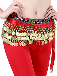 cheap -Belly Dance Belt Women's Beading Coins Sequins