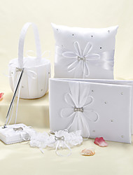 cheap -Garden Theme Collection Set With Rhinestones Ribbons Satin