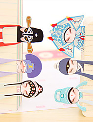 cheap -Classical Beijing Opera Role Mini Bookmark (7PCS)