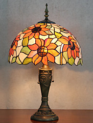 Недорогие -Настольная лампа, 2 Свет, Тиффани Смола Стекло картины