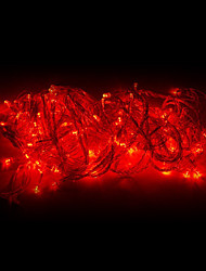 10M 100 LED-Red Light LED Weihnachtsdekoration String Light (220V)
