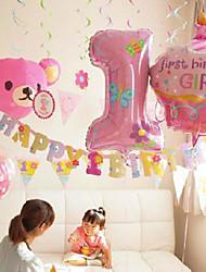 Balões número bastante (mais cores)