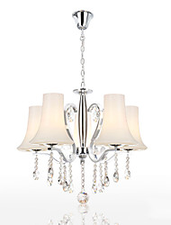 cheap -Modern/Contemporary Crystal Chandelier Uplight For Living Room Bedroom Dining Room 110-120V 220-240V Bulb Not Included