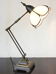 Недорогие -Поворотный кронштейн настольные лампы, 1 Света, Tiffany Железа Стекло картины