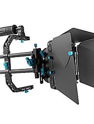 fotga® DP3000 pro dslr scivoli via matte box parasole w / maniglia superiore f 15mm rig