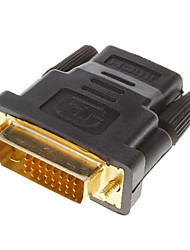 cheap -DVI 24+1 Male to HDMI V1.3 Female Adapter Converter HDTV