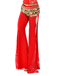 cheap -Belly Dance Bottoms Women's Training Crystal Cotton Natural