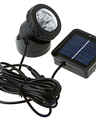 cheap -1PCS Solar Power Waterproof Garden Yard Pool Double Lamp Spot Flood Light