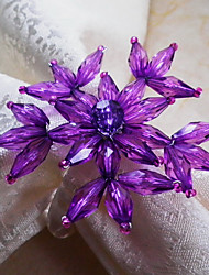 Floral Servietring, Akryl