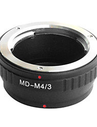 EMOLUX Minolta MD MC Objektiv an Micro 4/3 Adapter E-P1 E-P2 E-P3 G1 GF1 GH1 G2 GH2 G3 GF2 GF3