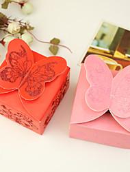 Cubóide Papel de Cartão Suportes para Lembrancinhas Com Caixas de Ofertas