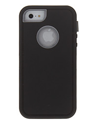 Til iPhone X iPhone 8 iPhone 8 Plus iPhone 5 etui Etuier Stødsikker Heldækkende Etui Rustning Hårdt PC for iPhone X iPhone 8 Plus iPhone