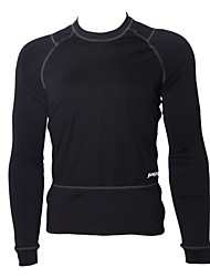 cheap -Jaggad Men's Long Sleeve Cycling Base Layer Bike Thermal / Warm, Fleece Lining, Breathable Spandex, Fleece