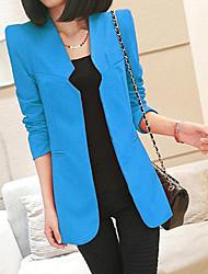 cheap -YLAS New Style Slim Chic Collar Blazer(Light Blue)