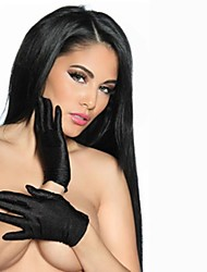 Sexy Stretch Satin Wrist Length Ladies Gloves