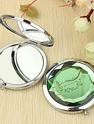 Недорогие -Персональный подарок Вайн Pattern Chrome компактное зеркало