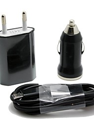 cheap -Car Charger / Home Charger / Portable Charger USB Charger EU Plug 1 USB Port DC 12V-24V