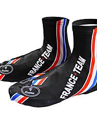 Skobeskyttere Cykel Åndbart Hurtigtørrende Ultraviolet Resistent Fugtpermeabilitet Påførelig Dame Herre Unisex Sort Blå Polyester