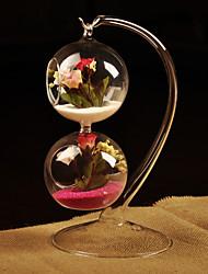 baratos -Vasos(deVidro,Branco) -Tema  Jardim Não-Personalizado Branco