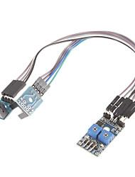 Недорогие -2 скорости дороги измерения датчик отсчета скорости двигателя модуля Groove Тип оптического