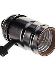 Black Plated Screw Lampholder(250W,250V)